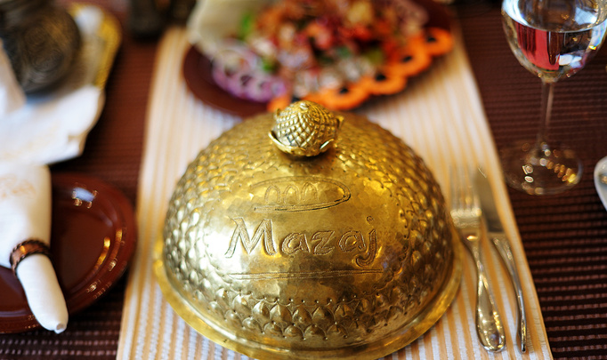 Ужин со звездой в «Mazaj». Гость – Виталий Карпанов