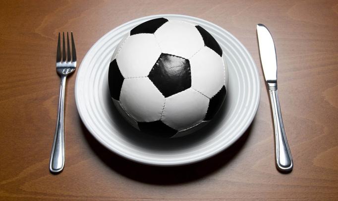 Голевое меню или Что любят футболисты?