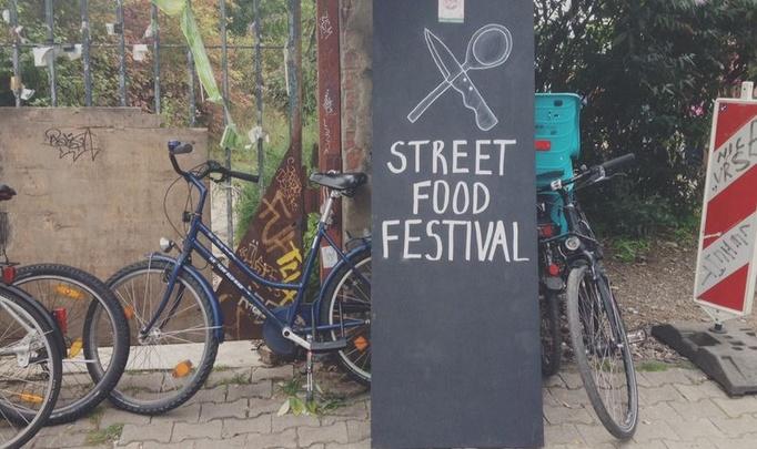 Фестиваль уличной еды в Кёльне