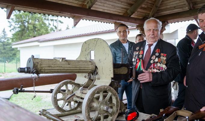 Встреча ветеранов на «Линии Сталина»