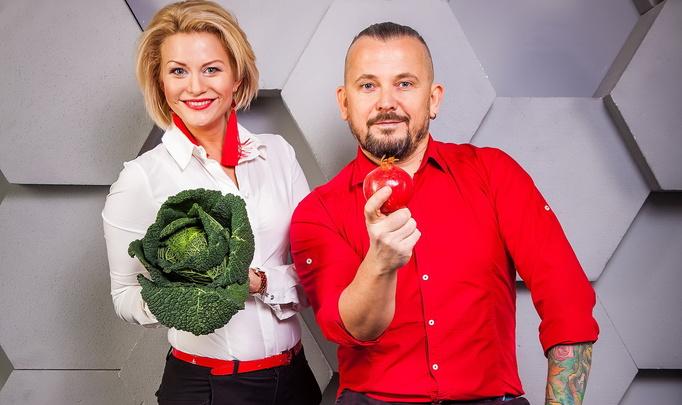 Экстравагантный кулинарный проект Алены Высоцкой и Garry Wood: «Receptor Project». История первая. «Жизнь в красном».