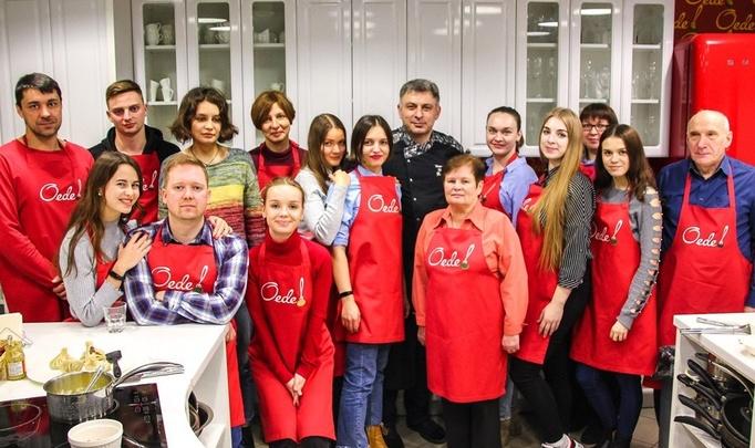 """В Первой Кулинарной школе  Oede прошел мастер-класс """"Грузинская кухня"""""""