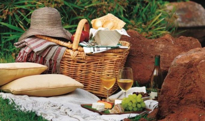 Романтический ужин в стиле пикника