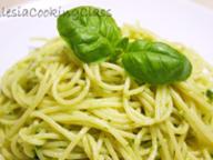 Спагетти с соусом Pesto
