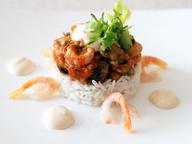 Салат с морепродуктами от БелМаркета