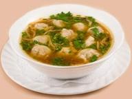 Куриный суп с пельменями от «Кухни Мастера»