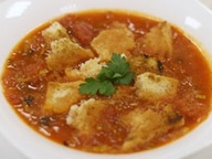 Томатный хлебный суп