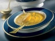 Тыквенный крем-суп с сыром пармезан