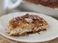 Десерт из рикотты со сливками