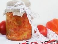 Лечо из перцев и помидор