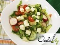 Овощной салат с сыром Фету