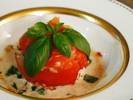 Фаршированные запеченные томаты