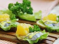 Картофельные талеры с филе сельди