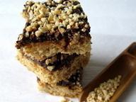 Кофейно-шоколадное печенье с орехами