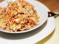 Салат с морковью и редькой