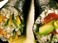 Темаки-суши с креветками или говяжьим филе