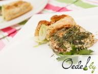 Киш - открытый пирог с овощами и грибами