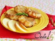 Сырники из духовки с яблоками