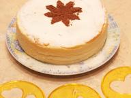 """Воздушный творожный десерт со сгущенными сливками """"А-ля чизкейк"""""""