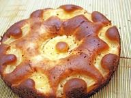 Пирог со сгущенными сливками
