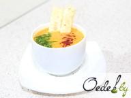 Суп-пюре из тыквы с чипсами из пармезана
