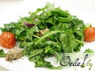 Теплый салат из говядины с черри
