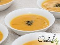 Суп-крем из тыквы с морским гребешком