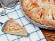 Шведский яблочный пирог  (Skånsk Äppelkaka)