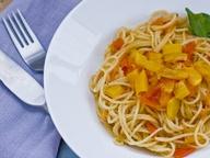 Спагетти с овощами от Наташи Поткиной