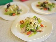 Салат из копчёной куриной грудки