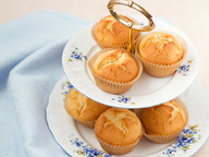 Миндально-лимонные кексы