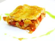 Пирог с куриным филе