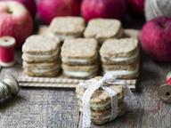 Яблочное печенье с кремом