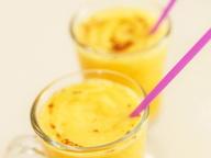 Сладкий смузи из тыквы с апельсинами и медом