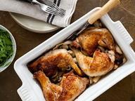 Куриные окорочка с тимьяном и чесноком