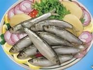 Ассорти из вареной рыбы