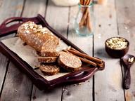 Десерт: «салями» с арахисовым маслом