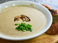 Французская кухня: грибной крем-суп