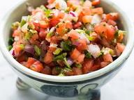 Свежая томатная сальса