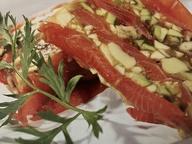 Террин из красной рыбы и авокадо