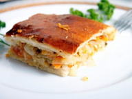 Бабушкины рецепты - Пирог с капустой