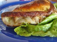 Омлет с сыром и орехами