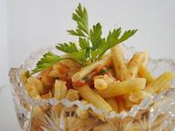Стручковая фасоль с помидорами по-гречески