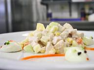 Детский овощной салат