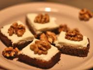 Домашние хлебцы с грецкими орехами