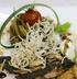 Филе лосося в синем маке марсельским пюре и вассаби кремом
