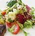 Салат с фуа-гра