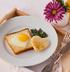 Яичница в тосте