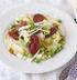 Салат с чоризо и горошком