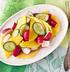 Салат из манго и редиса